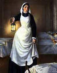 قدوتي  المرأة ذات المصباح  فلورانس نايتإنجيل